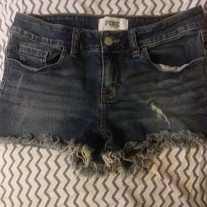PINK Victoria's Secret Denim Shorts